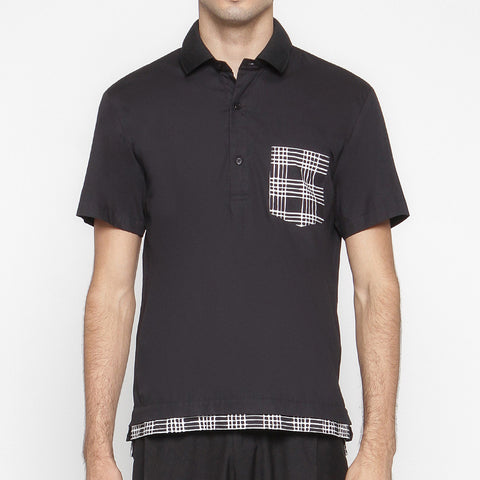 MEN POLO SHIRT : CHECK