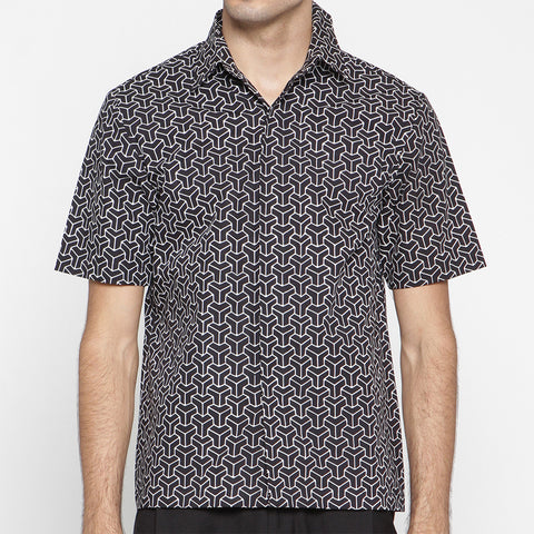 MEN SHORT SLEEVE SHIRT : 3D