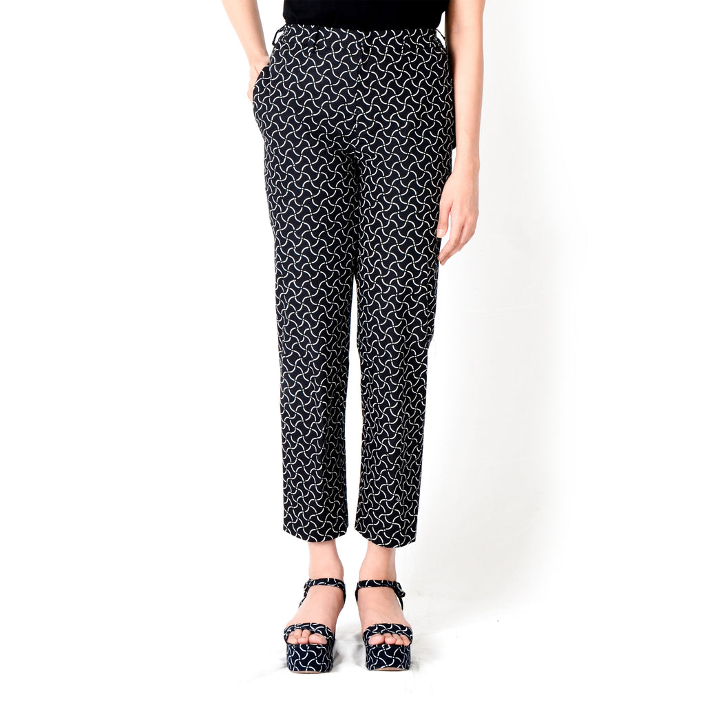 Women Basic Pants: Rectangular