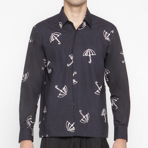 Men Tattoo Long Sleeve Shirt: Payung
