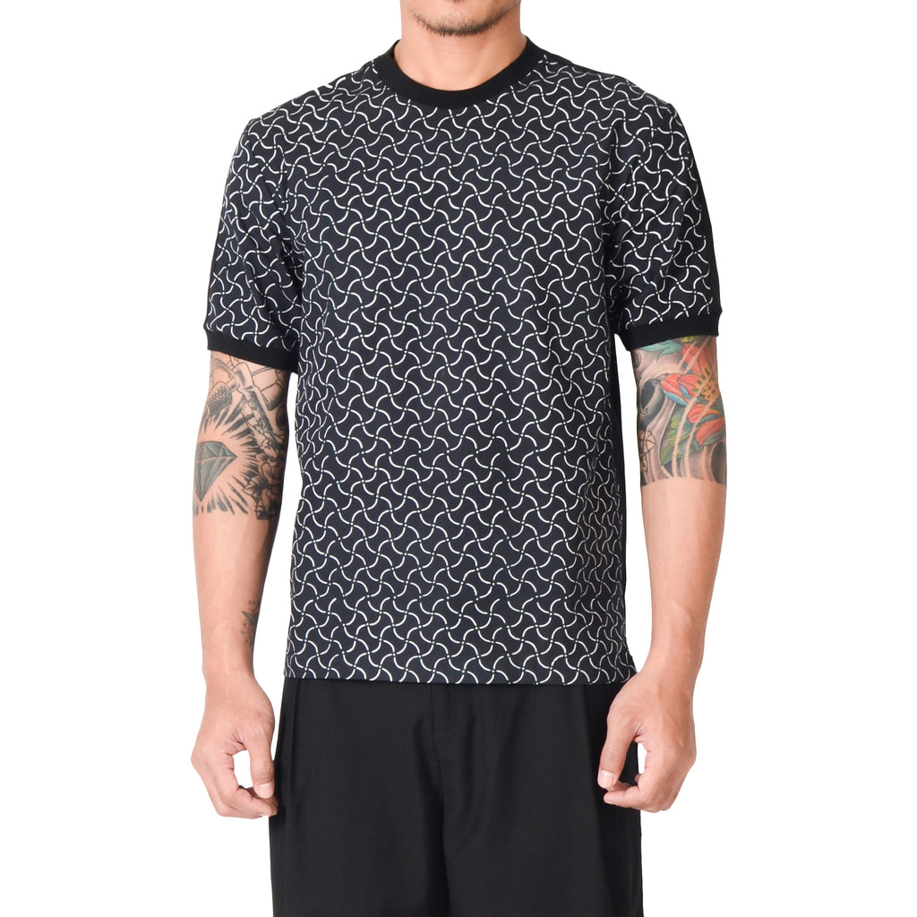 Men Short Sleeve T-shirt: Rectangular