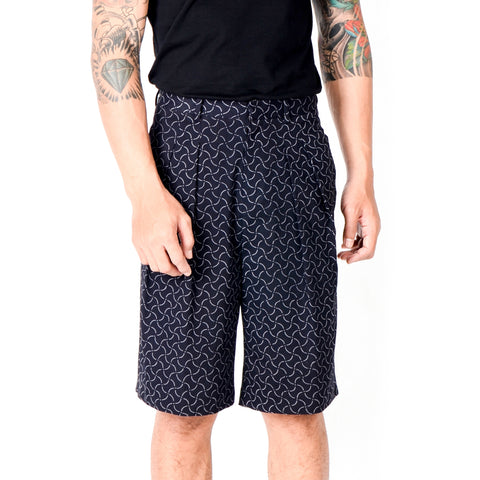 Men Bermuda Shorts: Rectangular