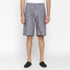 MEN PLEATS SHORT PANT : GRINGSING WAVE