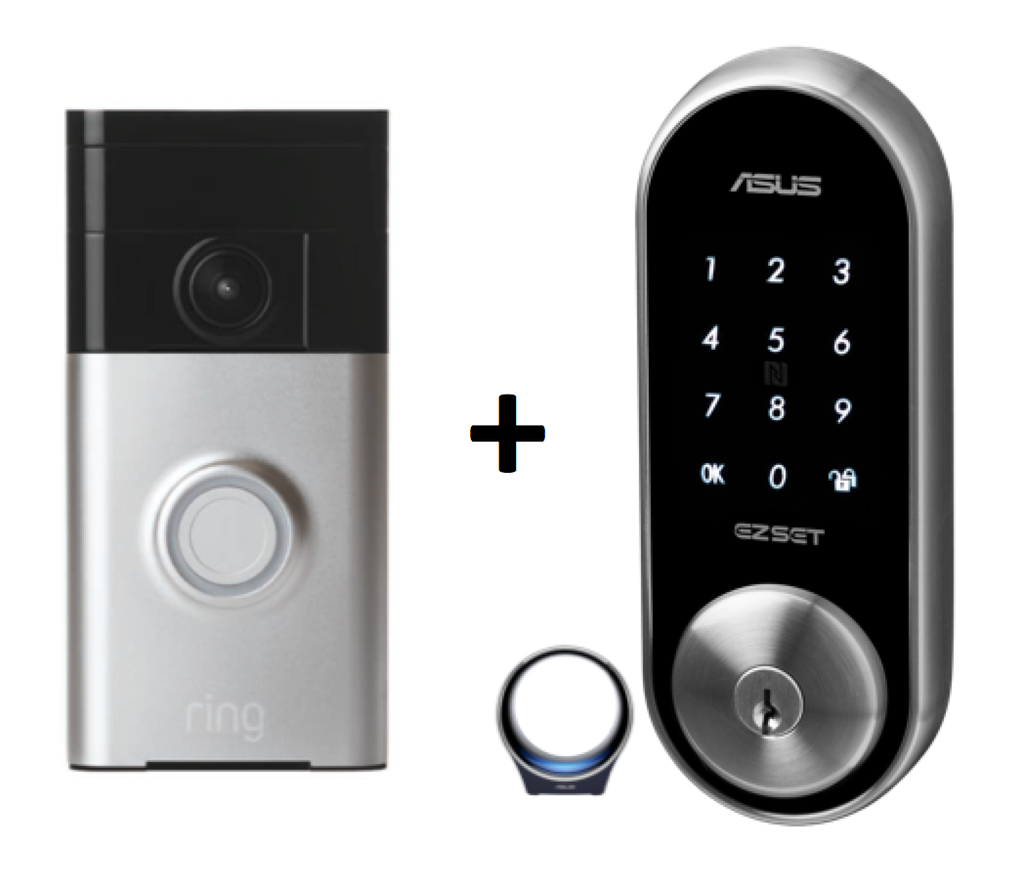 When 2 Becomes 1 (Secure unlocking of your home)