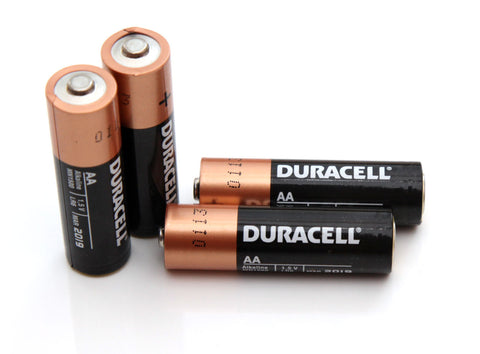 digital door lock battery duracell
