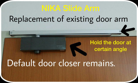 Nika Slide arm door closer