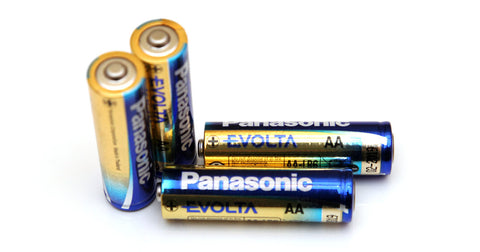 digital lock battery panasonic evolta AA