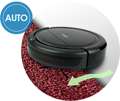 height adjustment - VC3000 AZTECH Robotic Vacuum