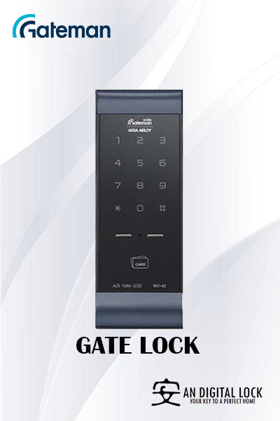 Gateman Digital Door Lock WV42G Gate Lock