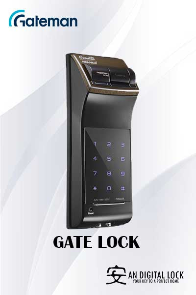 Gateman Digital Door Lock G-Fingus G Gate Lock