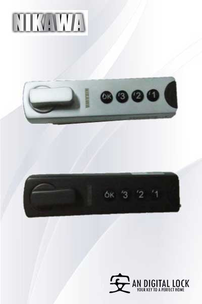 Nikawa Digital LetterBox Lock