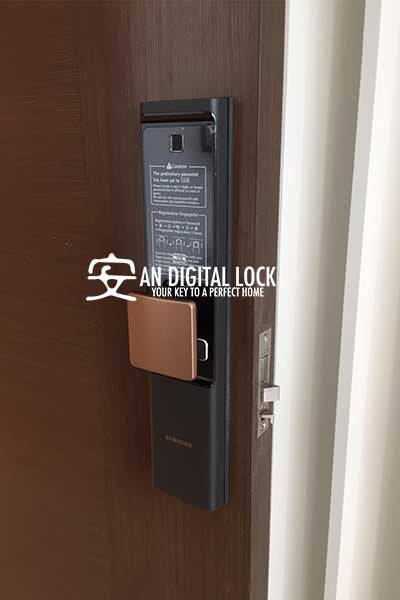 New Samsung Digital Door Lock Shp Dr708 An Digital
