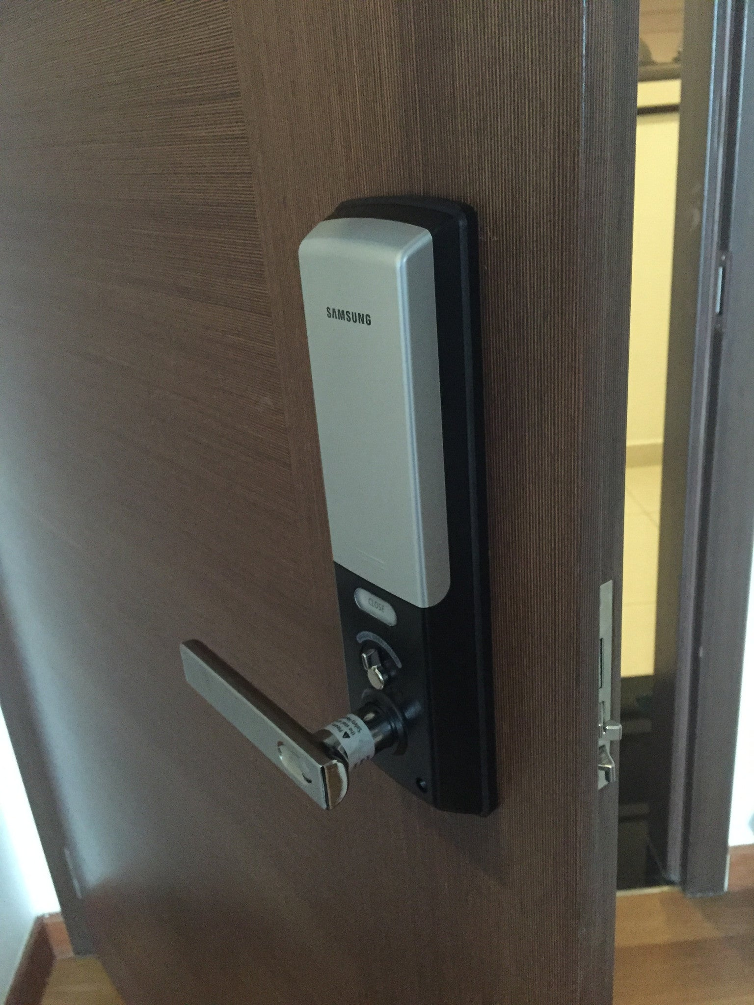 Samsung Digital Door Lock Shs H505 An Digital Lock Pte Ltd