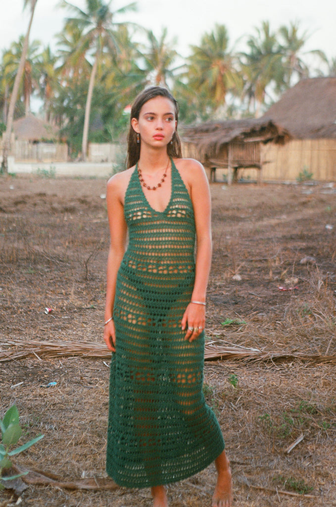 sumba Dress Forest