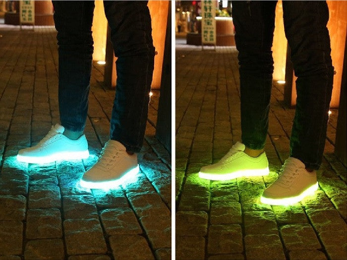 10 Best LED Sneakers To Light Up Your Party Nights