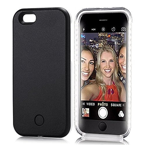 Light Up LED iPhone Case 7 and 7 Plus - Selfie Case
