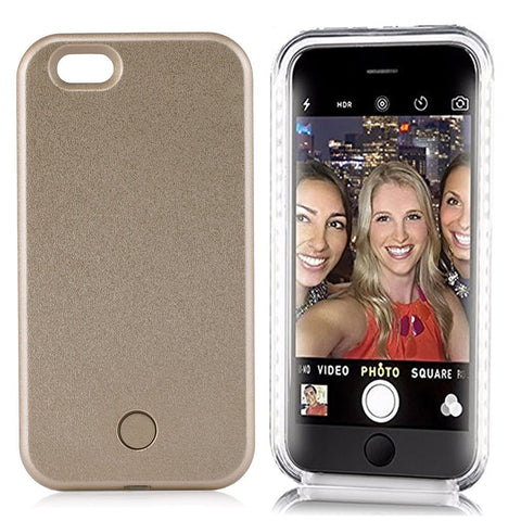 Light Up LED iPhone Case 6/6S and 6 Plus/6S Plus - Selfie Case