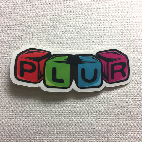 Sticker Pack - PLUR!