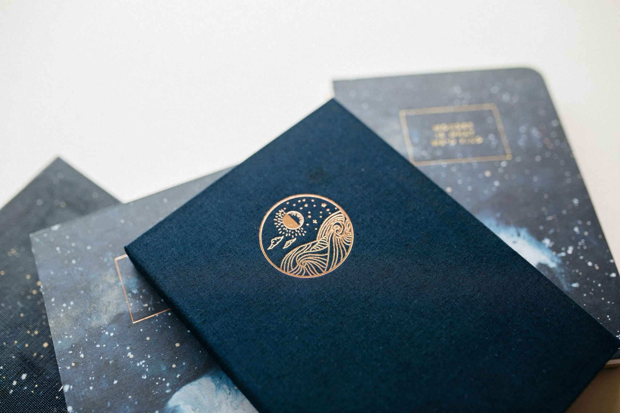 WONDER / Sun & Moon - Moon Rise (fabric) Sketchbook