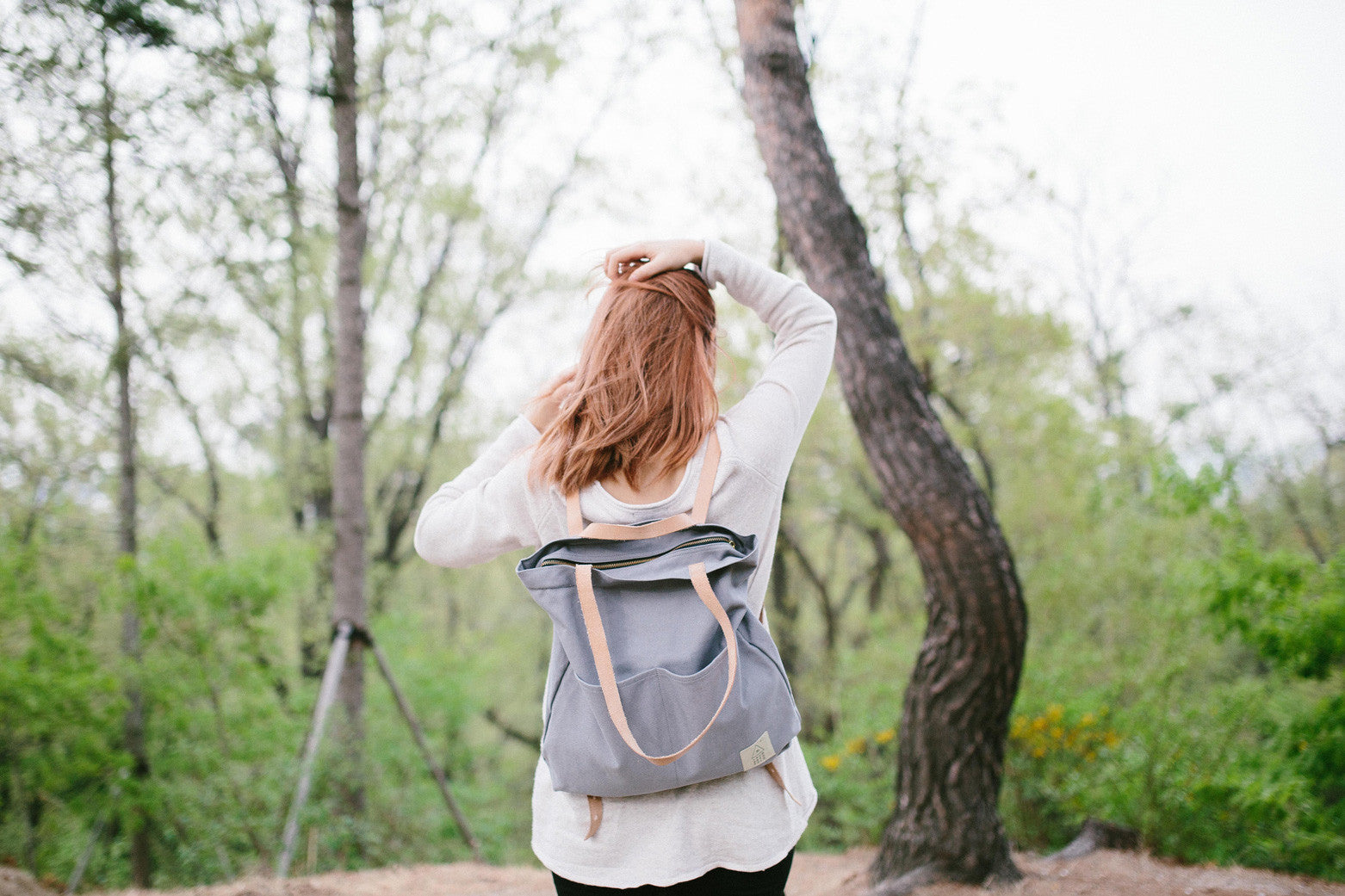 Traveller Basic Backpack: Dove Grey