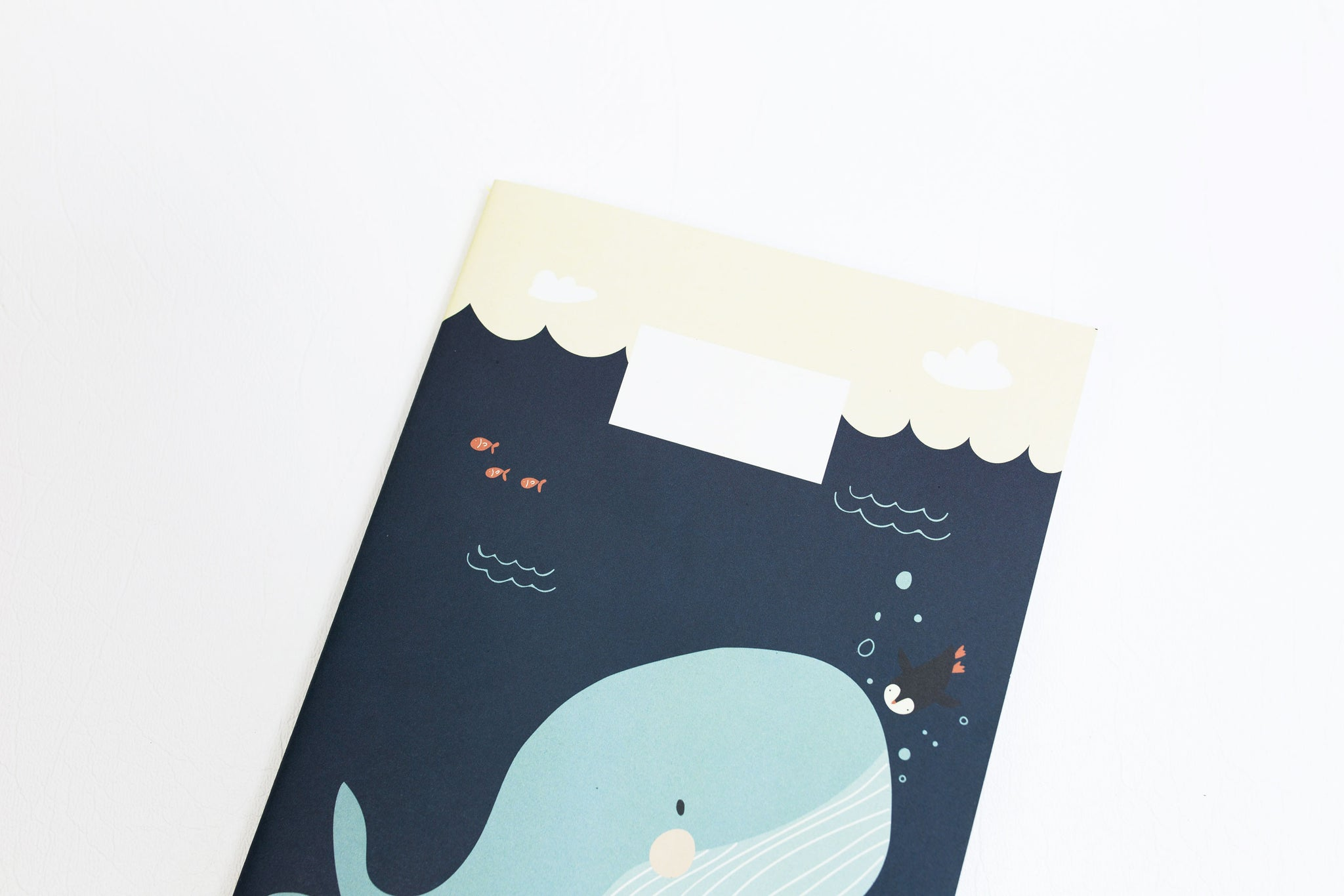 A5 Notebook - Whale Of A Tale
