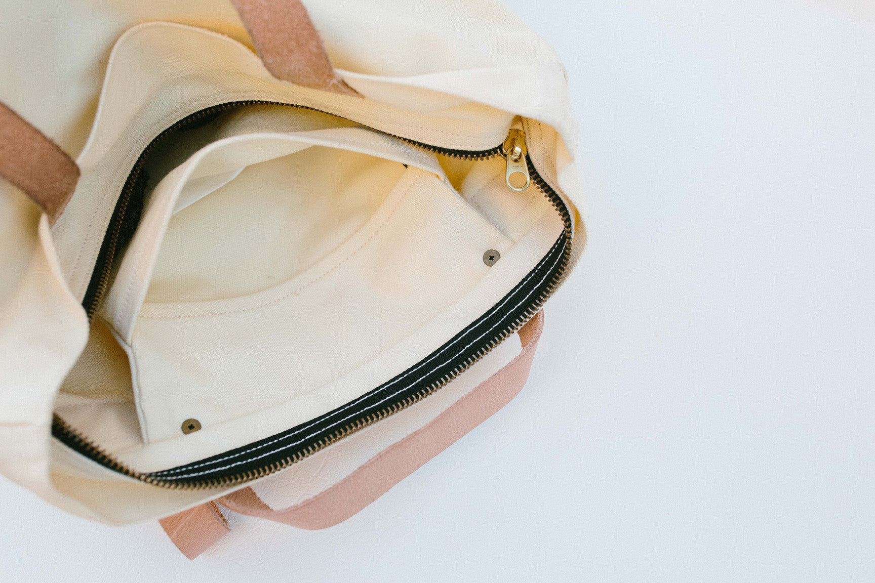 Traveller Basic Backpack: Ivory