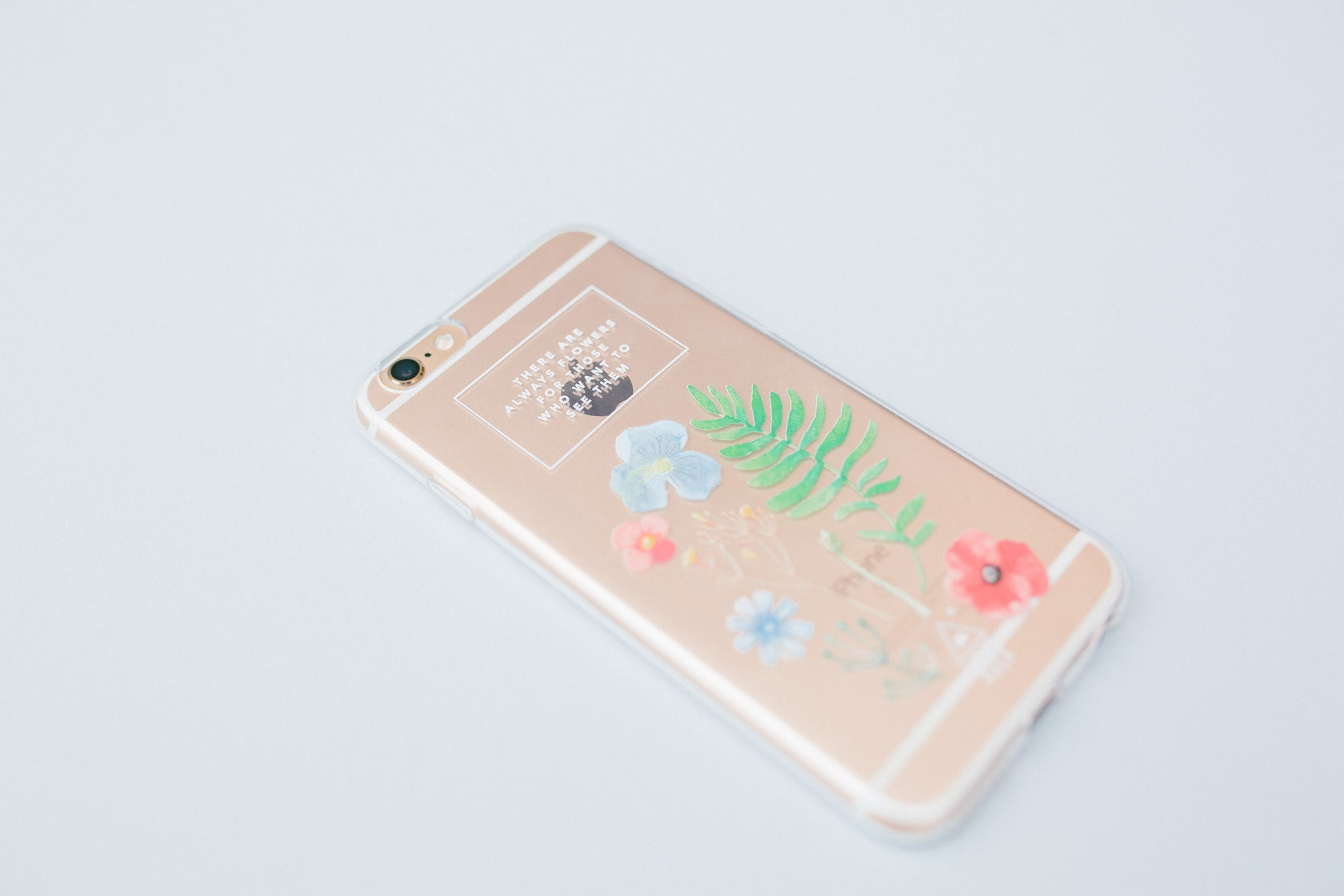 Wild Flowers Jelly Phone Case - iPhone 7+
