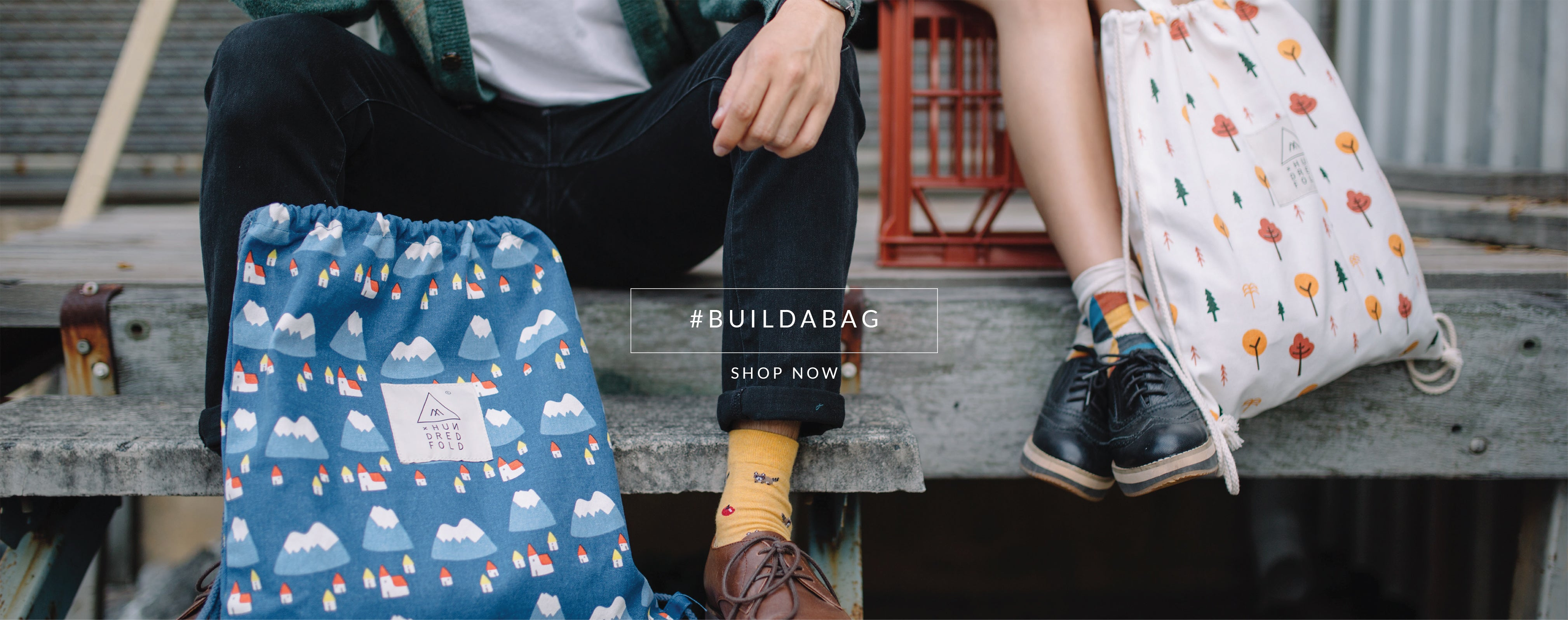 #buildabag shop now