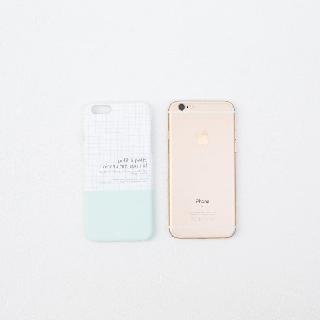 Proverbs Phone Case (French) - iPhone 7+