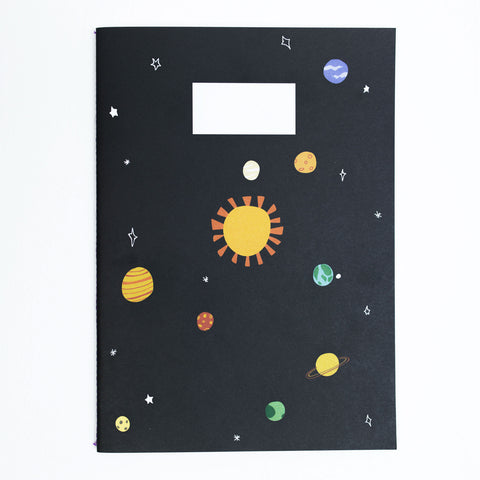 A5 Notebook - EXPLORING SPACE