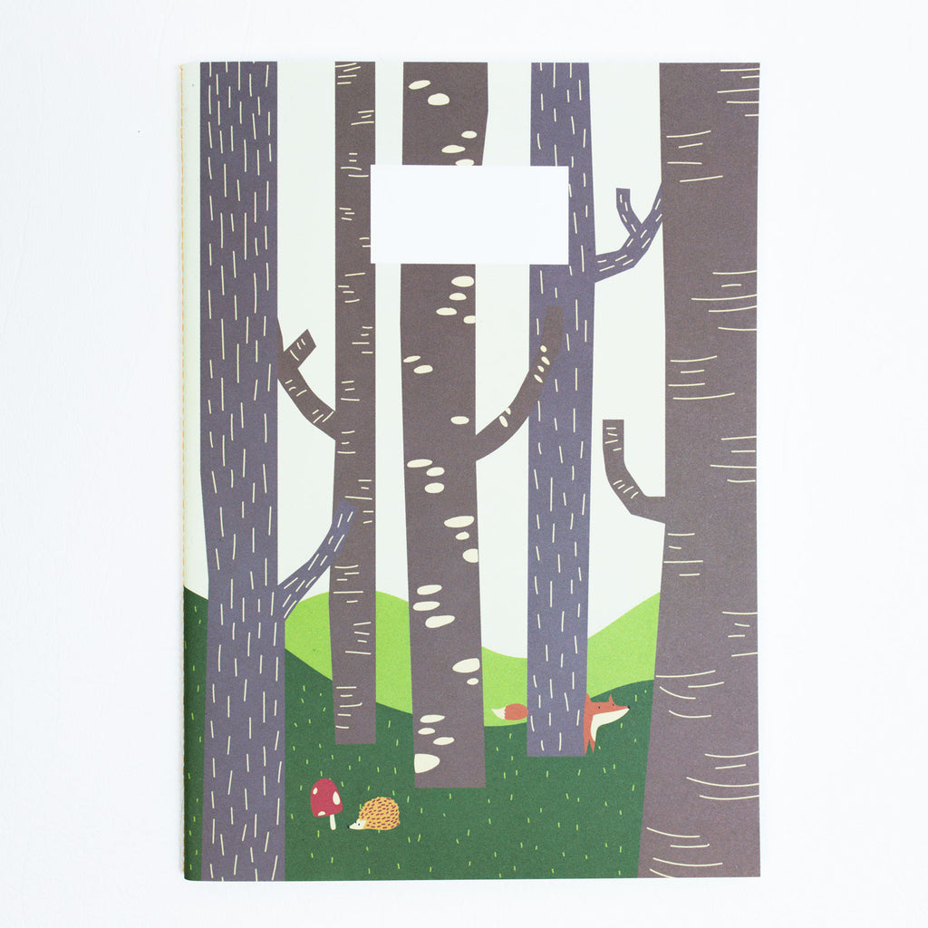 A5 Notebook - FOREST FRIENDS