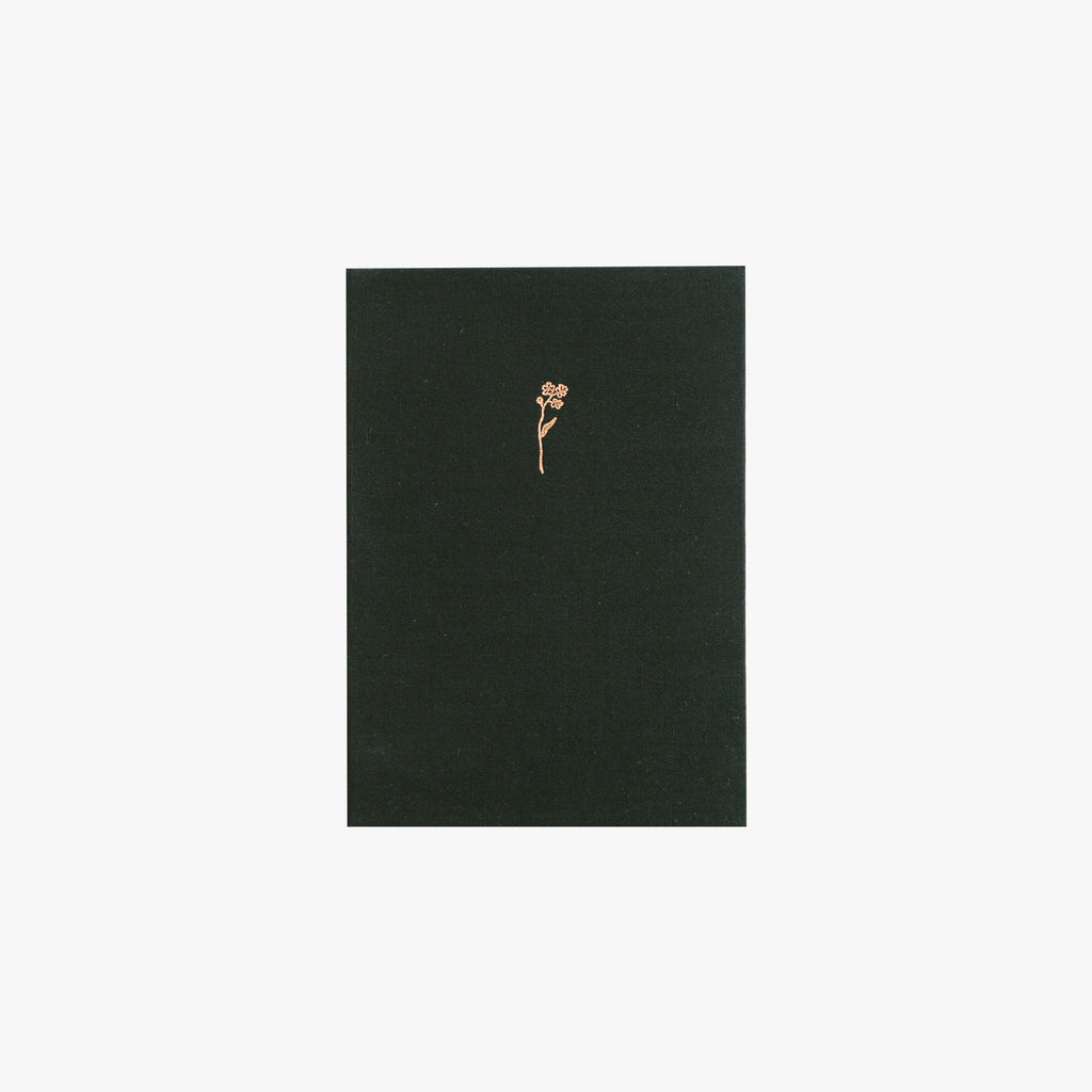 Forget-You-Not Fabric Sketchbook (Black)