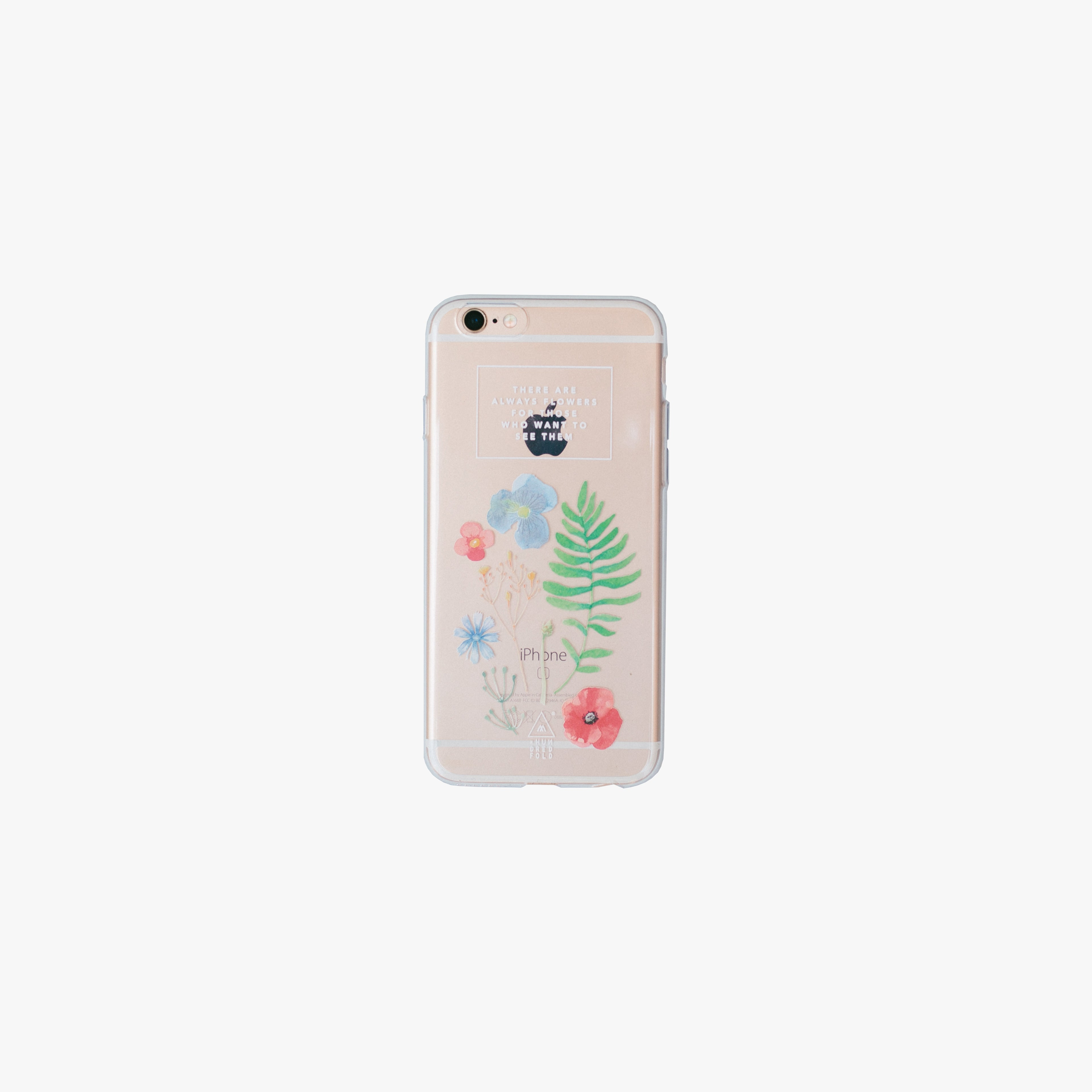 brand new 63254 27293 Wild Flowers Jelly Phone Case - iPhone 6 & 6s