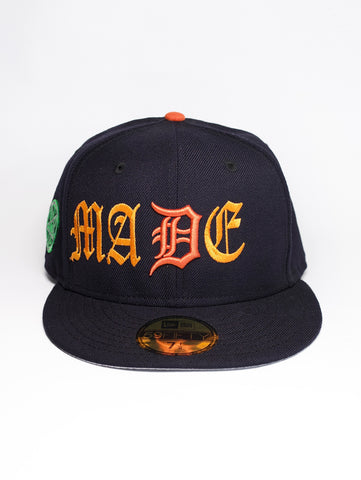 Stolen Youth x MADE 59FIFTY New Era Cap - Navy w/ Orange