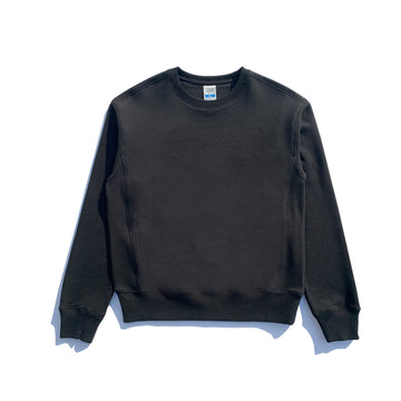 Varsity Crewneck- Phantom Black
