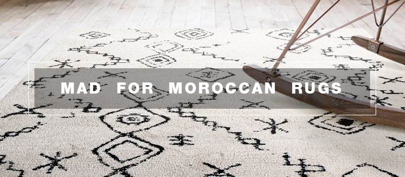 Mad for Moroccan Rugs