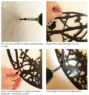 Fixing A Blackbird Sang Wall Art pieces