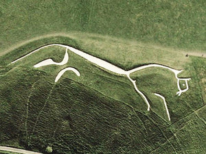 Wall Art - Uffington Horse