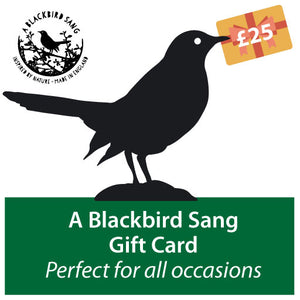 A Blackbird Sang - Gift Card