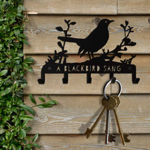 Key Hooks - A Blackbird Sang range of keyhooks