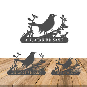 A Blackbird Sang - Sign