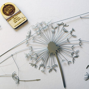 Dandelion Seedclock - Mobile