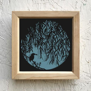 Papercut - Willow & Kingfisher