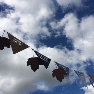 Bunting - Christina Rossetti - Who has seen the Wind?
