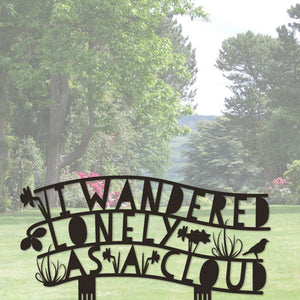 Poem - I Wandered Lonely As A Cloud