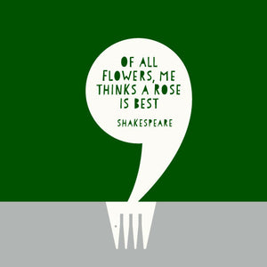 SingleQuote - Shakespeare - A Rose is Best