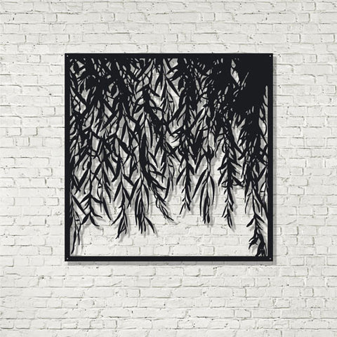 Screen Art - Weeping Willow