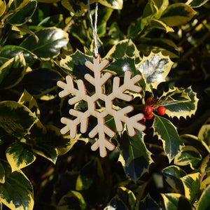 Christmas Decorations - Snowflake - Layered Poplar Eco Plywood