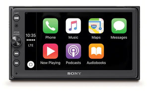 "SONY XAV-AX100: 6.4"" Media receiver with BLUETOOTH"
