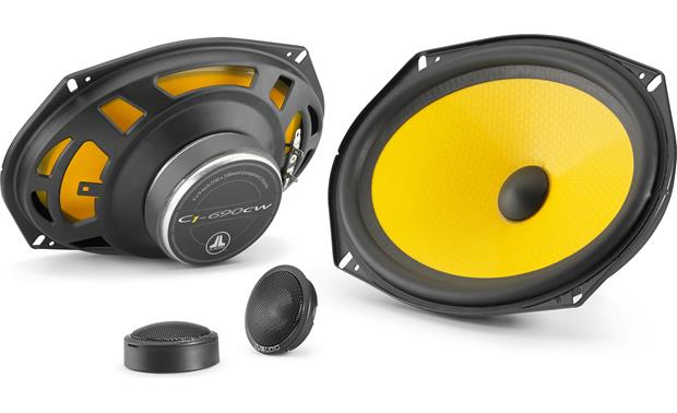 JL AUDIO C1-690: 6x9-inch 2-Way Component Speaker System